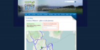 Towards Zero Carbon Bute cycle journey planner